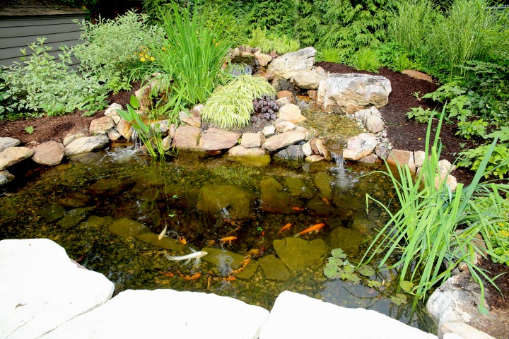How to get your grand rapids pond ready for winter r a for Landscaping rocks grand rapids