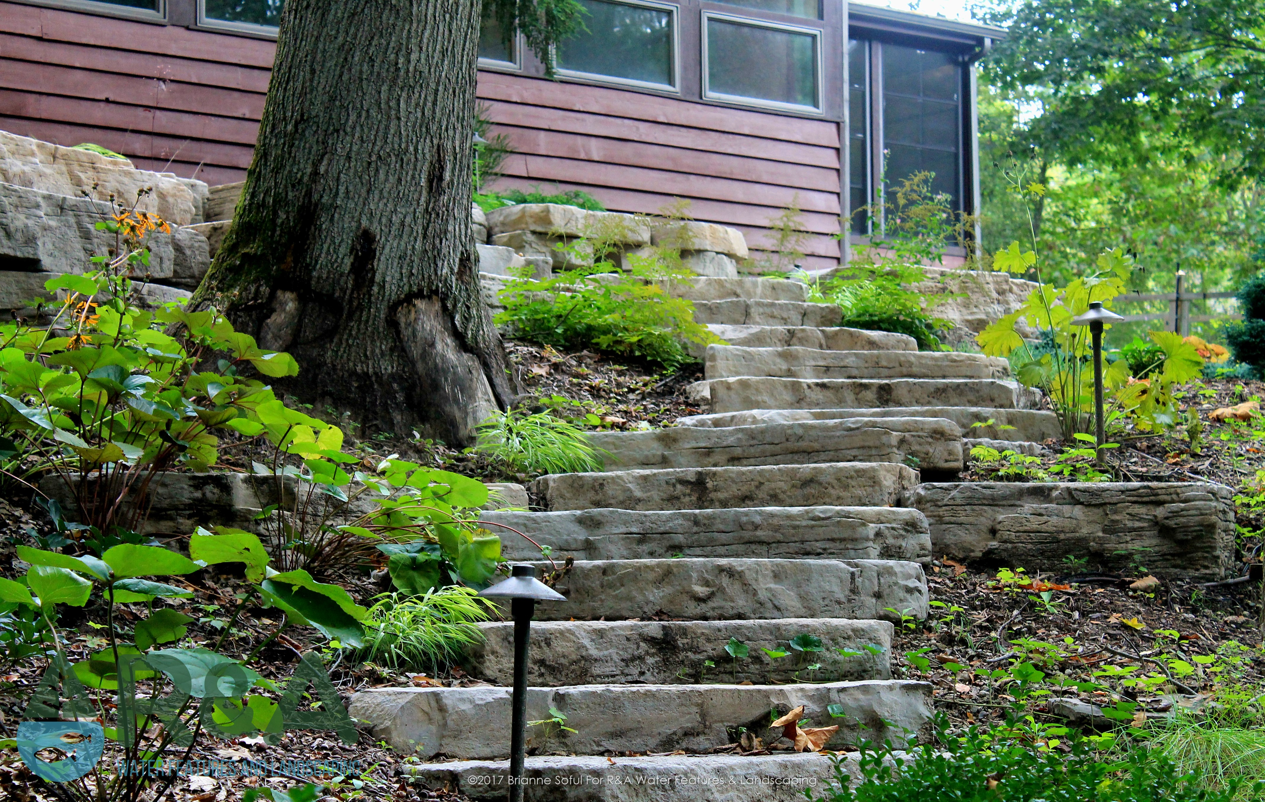Eau Claire Landscaping Retaining Wall Steps Deck (9)