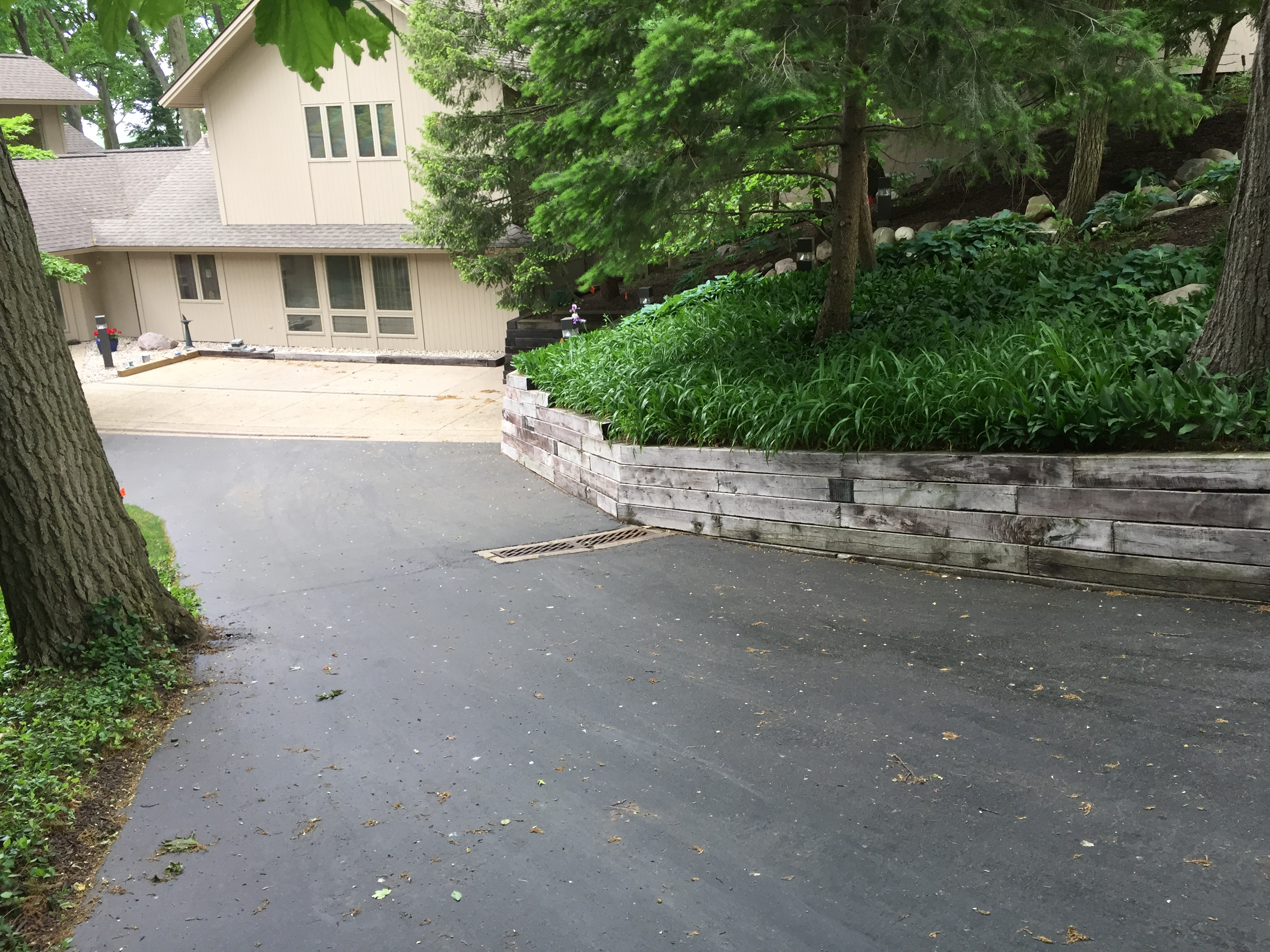 Gull Lake Retaining Wall Renovation Landscaping 1