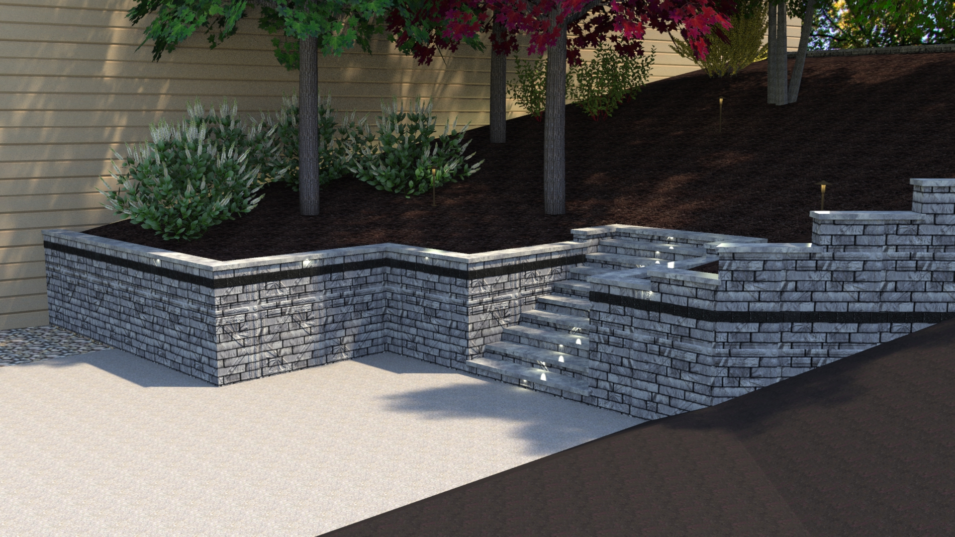 Gull Lake Retaining Wall Renovation