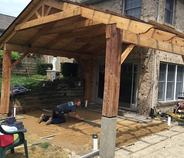 Types of shade structures Grand Rapids Patio Porch Cover