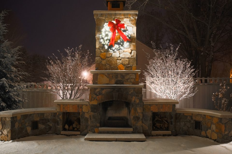 Holiday decoration ideas for business commercial residential kalamazoo grand rapids