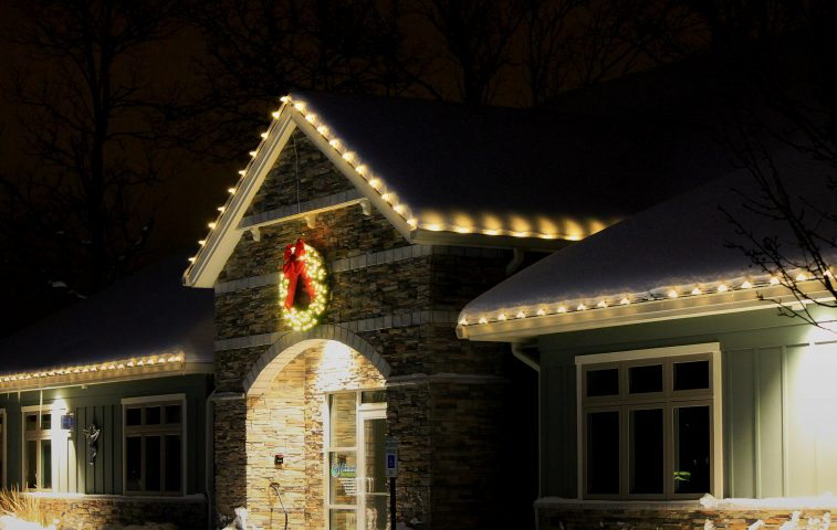 Holiday Lighting Ideas Kalamazoo Grand Rapids Business Commercial Residential