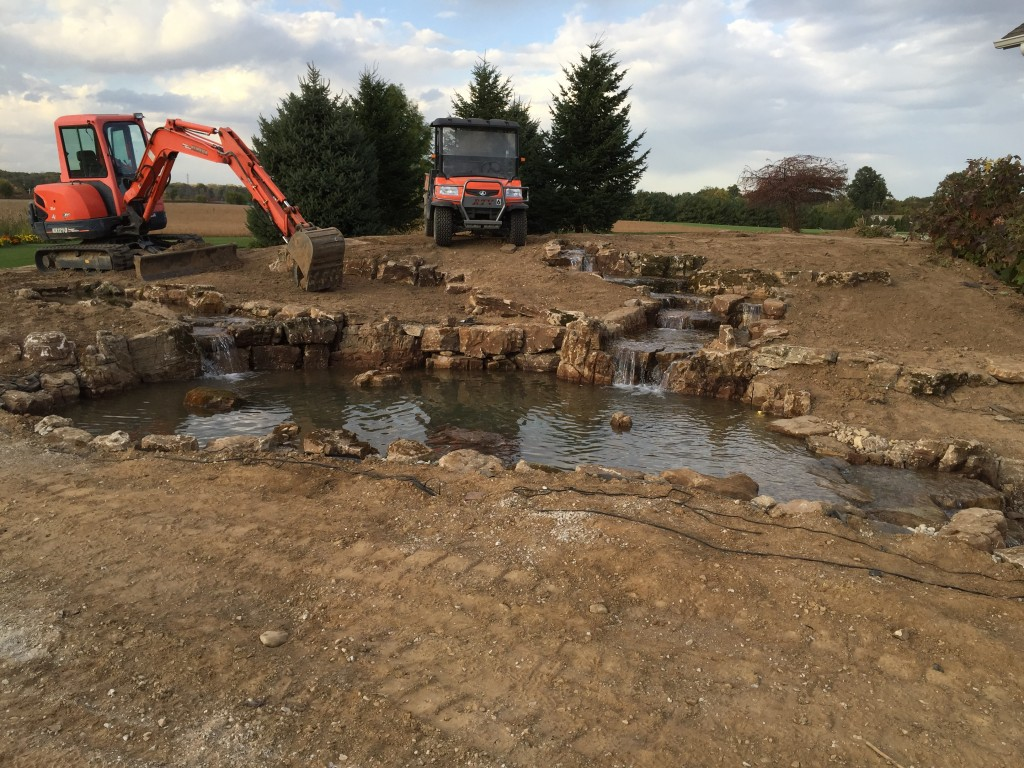 Pond Construction Installation LaPorte, IN