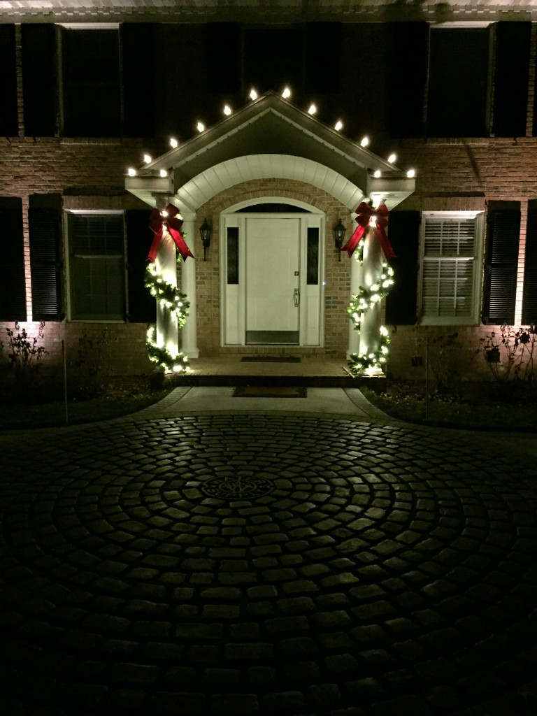 Christmas Light Entry Idea