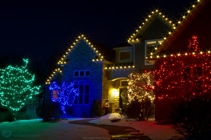 Professional Christmas Lights Decorations Kalamazoo Grand Rapids