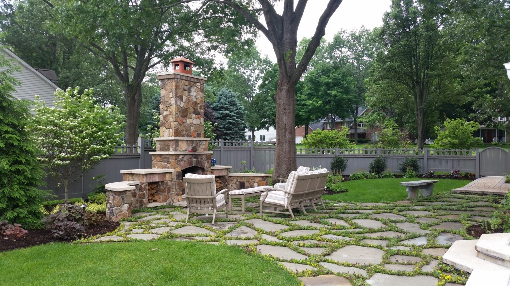 Landscaping Trends Outdoor Living Outdoor Fireplace
