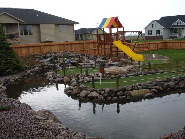 Backyard Pond Safety Tips Pond Fencing