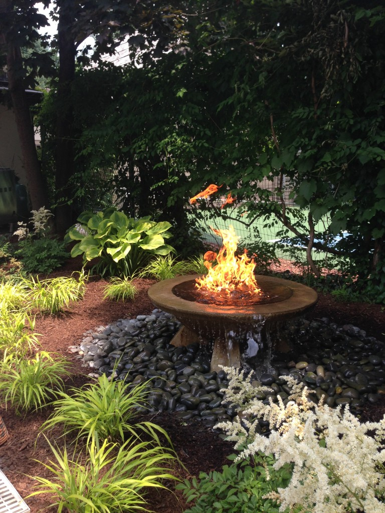 Kalamazoo Landscape & Water Feature - Fire and Water Feature