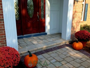 Patio Pavers Landscape Hardscape Ideas Front Porch Stevensville Kalamazoo Grand Rapids