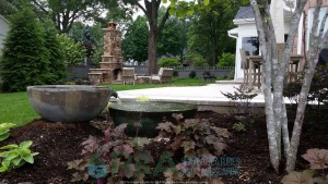 Small Decorative Fountain Water Feature Ideas Small Yard Kalamazoo Grand Rapids Michigan
