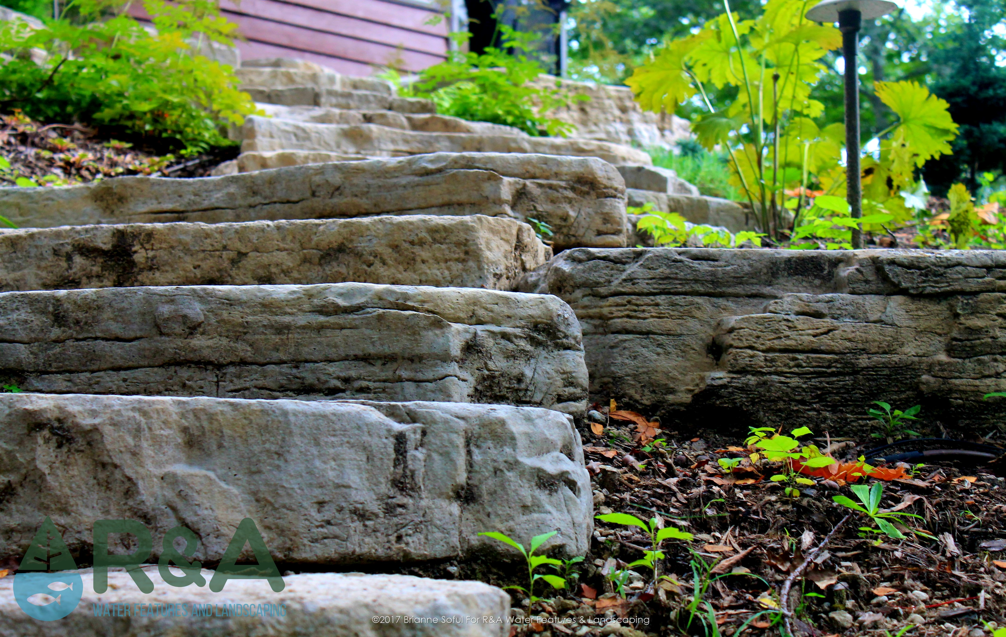 Eau Claire Landscaping Retaining Wall Steps Deck (3)