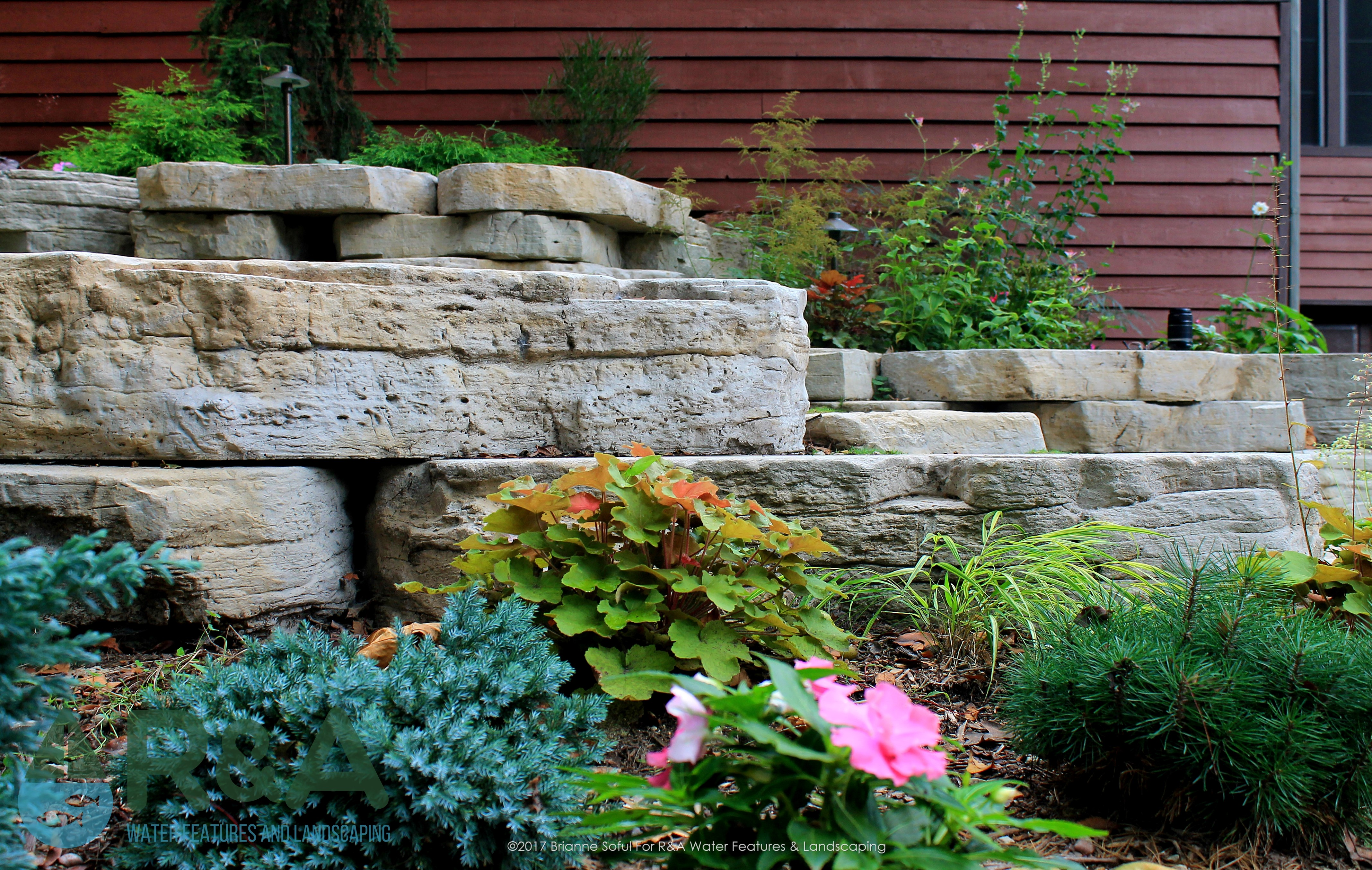 Eau Claire Landscaping Retaining Wall Steps Deck (7)