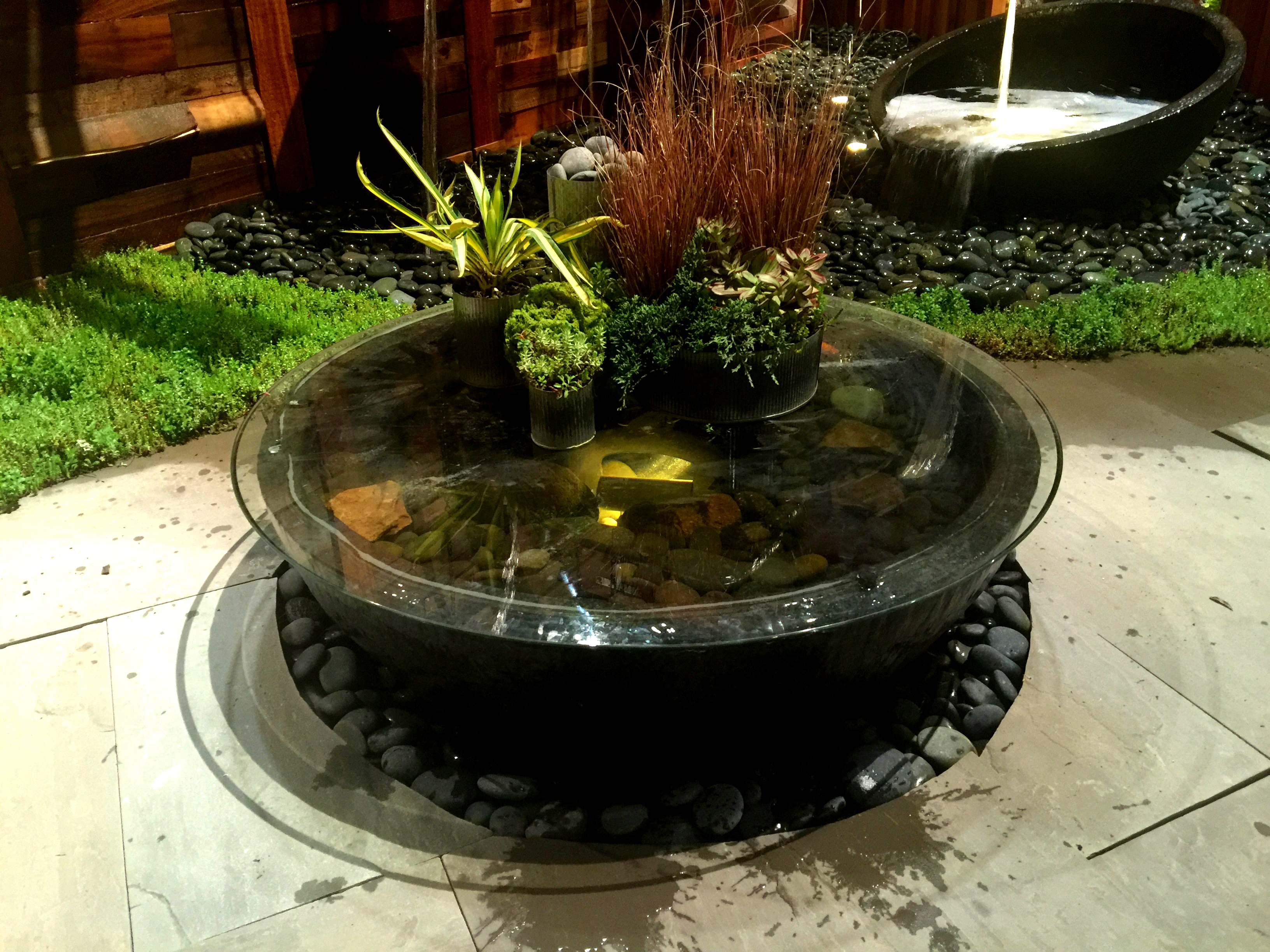 Spillway Bowl Ideas Kalamazoo Grand Rapids Decorative Fountain Water Feature