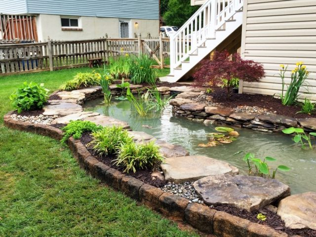 RA Pond Renovation After