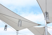 Shade structures shade sail