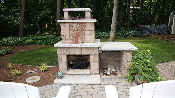 Outdoor Chimney Fire Pit Kalamazoo MI
